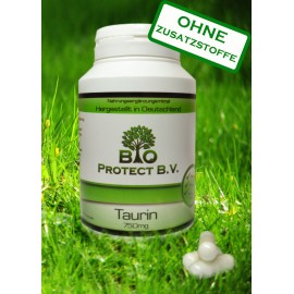 Taurin 750 mg - 120 Kapseln - Bio Protect