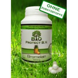 Bromelain 500 mg - 2000GDU - 120 Kapseln Ananas Enzym - Bio Protect