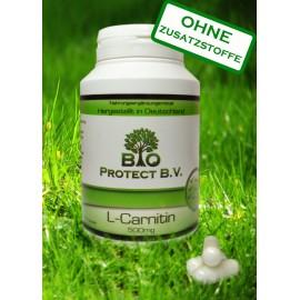 L- Carnitin 500mg - 120 Kapseln - Bio Protect
