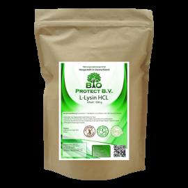 L-Lysin HCL Pulver 500 Gramm ohne Zusatzstoffe - Bio Protect BV