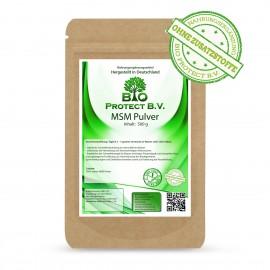 MSM Pulver 500g  ohne Zusatzstoffe von Bio Protect (Methylsulfonylmethan)