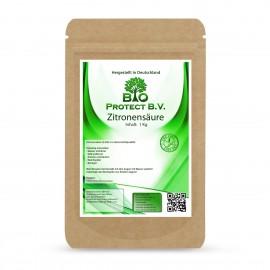 Zitronensäure 1Kg  rein von Bio Protect