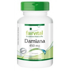 Damiana 450mg - 100 Kapseln