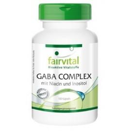 GABA COMPLEX mit Niacin und Inositol - 100 Kapseln