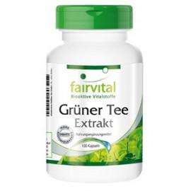 Grüner Tee Extrakt - 100 Kapseln Fairvital