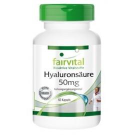 Hyaluronsäure  50 mg - 60 Kapseln