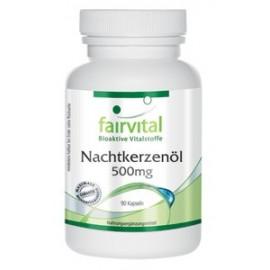 Nachtkerzenöl -500 mg - 90 Kapseln Fairvital
