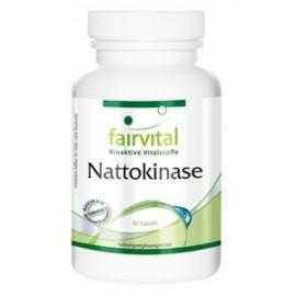 Nattokinase 50 mg -1000 FU - 60 Kapseln Fairvital