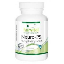 Neuro-PS 30 Sofgels für Konzentration von Fairvital