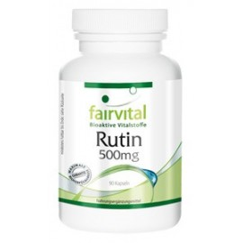 Rutin 500mg - Vitamin P - 90 Kapseln - Fairvital